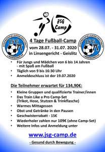 JSG Fussball-Camp