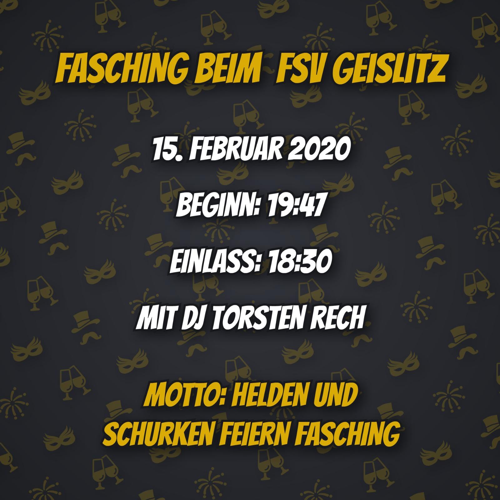 Fasching 2020