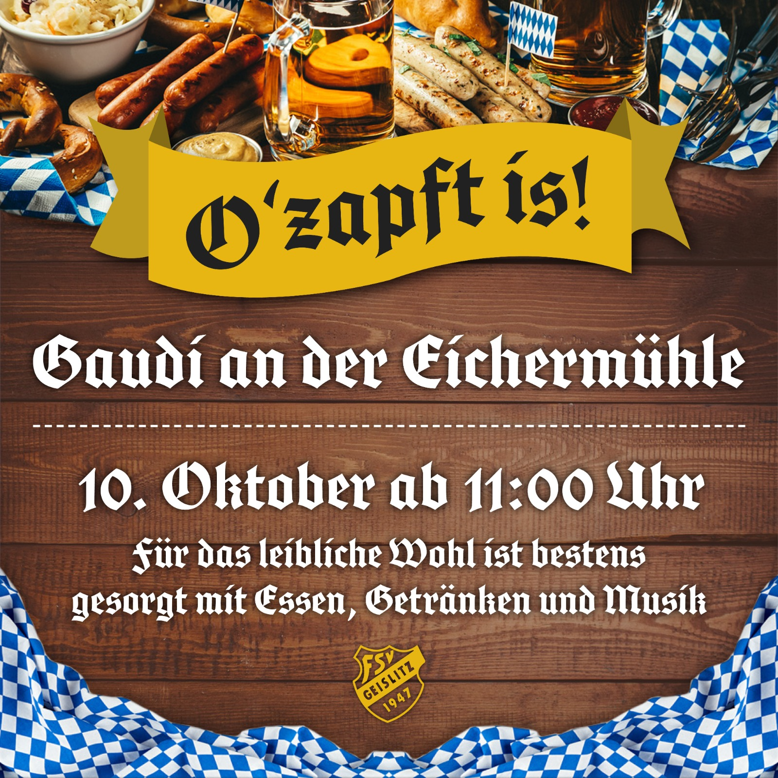 You are currently viewing Oktoberfest-Frühschoppen 2021